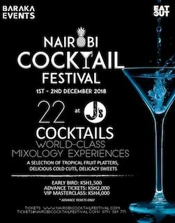 Nairobi Cocktail Festival 2018