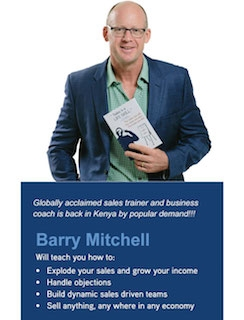 Barry Mitchell's Sales Explosion Workshop