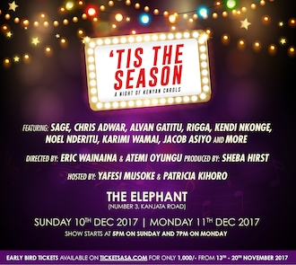Tis The Season: A Night of Kenyan Carols 2017