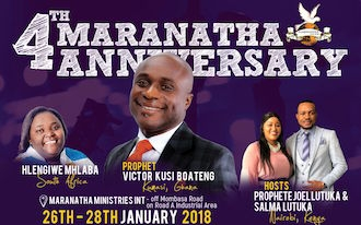 The 4th Maranatha Anniversary Celebration