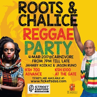 Roots and Chalice Reggae Party