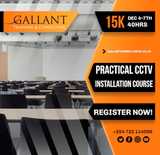 Practical CCTV Installation, Maintenance & Management Course December 2019