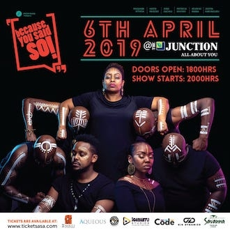 Because You Said So: April 2019 At The Junction