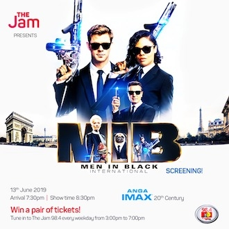 The Jam Presents: Men In Black International Screening!