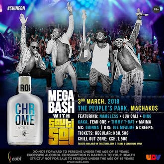 Chrome Mega Bash Machakos