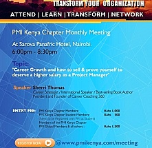 PMI Kenya Chapter Monthly Meeting - Dec 2016