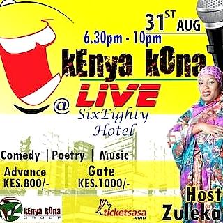 Kenya Kona Live August 2019