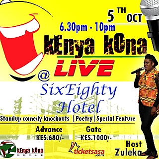 Kenya Kona Live October 2019