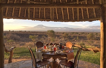 Safari Escape to Tortilis Camp
