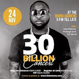 30 BILLION CONCERT