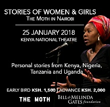 Stories of Women & Girls: The Moth in Nairobi