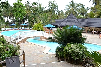 Beach Getaway to Travellers Beach Hotel Mombasa