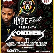 HYPE Fest Presents Konshens