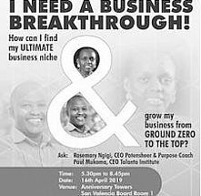 I need a business breakthrough!
