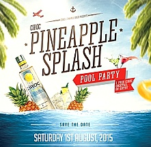 Ciroc Pineapple Pool Party at Swahili Beach
