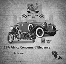 CBA Africa Concours d' Elegance 2015