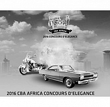 2016 CBA AFRICA CONCOURS D'ELEGANCE