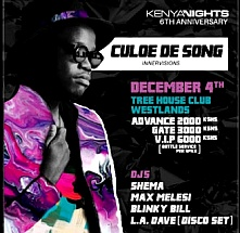 Kenya Nights 6th Anniversary With Culoe De Song
