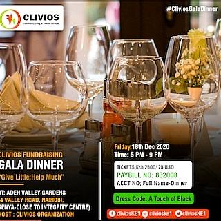 CLIVIOS FUNDRAISING GALA DINNER 2020