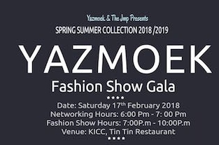Yasmoek Fashion Gala 2018