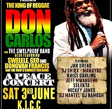 A Peace Concert with The Legendary Don Carlos