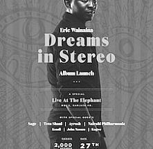 Eric Wainaina Dreams in Stereo Album Launch
