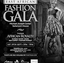 East African Fashion Gala 2018