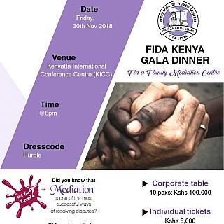 FIDA KENYA Charity Gala Dinner