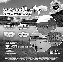 Hell's Gate & Geothermal Spa Day Trip