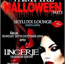 Vampire Halloween Party