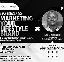 Masterclass : Marketing Your Lifestyle Brand