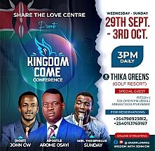 Kingdom Come Conference
