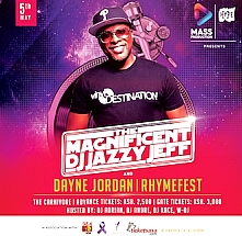 DJ Jazzy Jeff The Magnificent and Rhymefest Live in Nairobi
