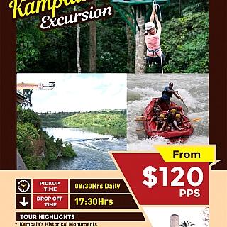 Kampala-Jinja Excursion