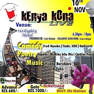 Kenya Kona Live