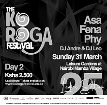 DAY 2: The 25th Edition of The Koroga Festival: Celebrating our African Flavour