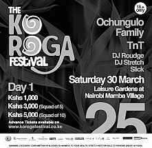 DAY 1: The 25th Edition of The Koroga Festival: Celebrating our African Flavour