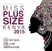 Miss Plus Size Kenya 2015