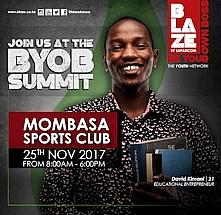 BLAZE BYOB Mombasa Summit 2017