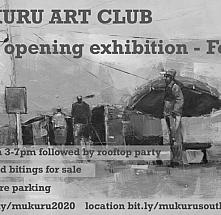 Mukuru Art Club 2020 Opening Exhibition