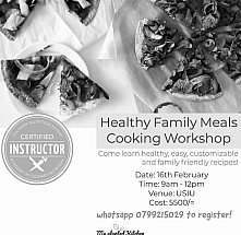 Healthy Family Meals Cooking Workshop