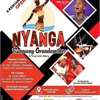 Nyanga: Runaway Grandmother Saturday Show