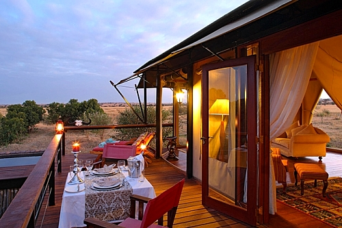 2 Nights flying package at Olare Mara