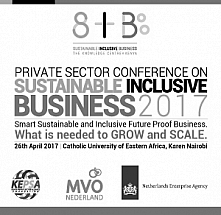 Private Sector Conference on Sustainable and Inclusive Business 2017
