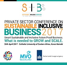 Private Sector Conference on Sustainable and Inclusive Business