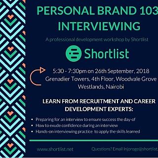 Personal Branding 103