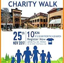 Rotary Club of Karen and The Hub Karen Charity Walk