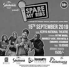 Spare My Ribs September 2019
