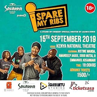 Spare My Ribs September 2019