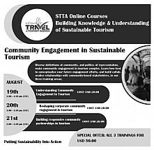 Sustainable Tourism Online Training for Community Engagement